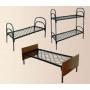 Трехъярусные металлические кровати для рабочих,  кровати для общежитий,  двухъярусные кровати для подсобок,  вагончиков.  Цены о